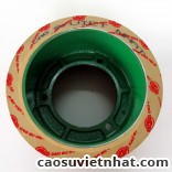 Rubber roll 6 inch cast iron core
